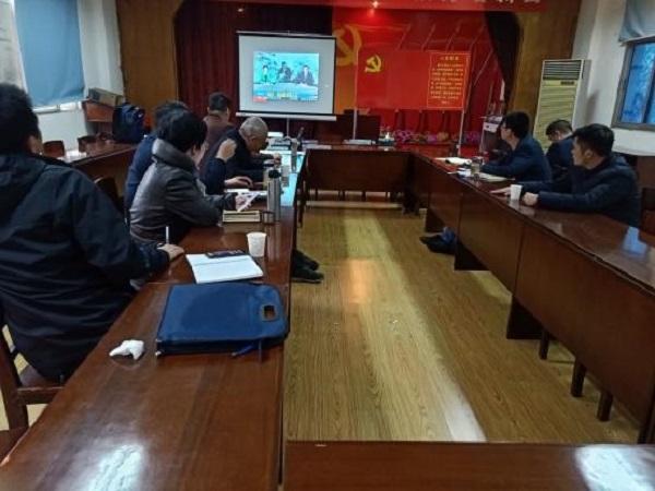 楚天项目支部组织开展支部主题党日活动